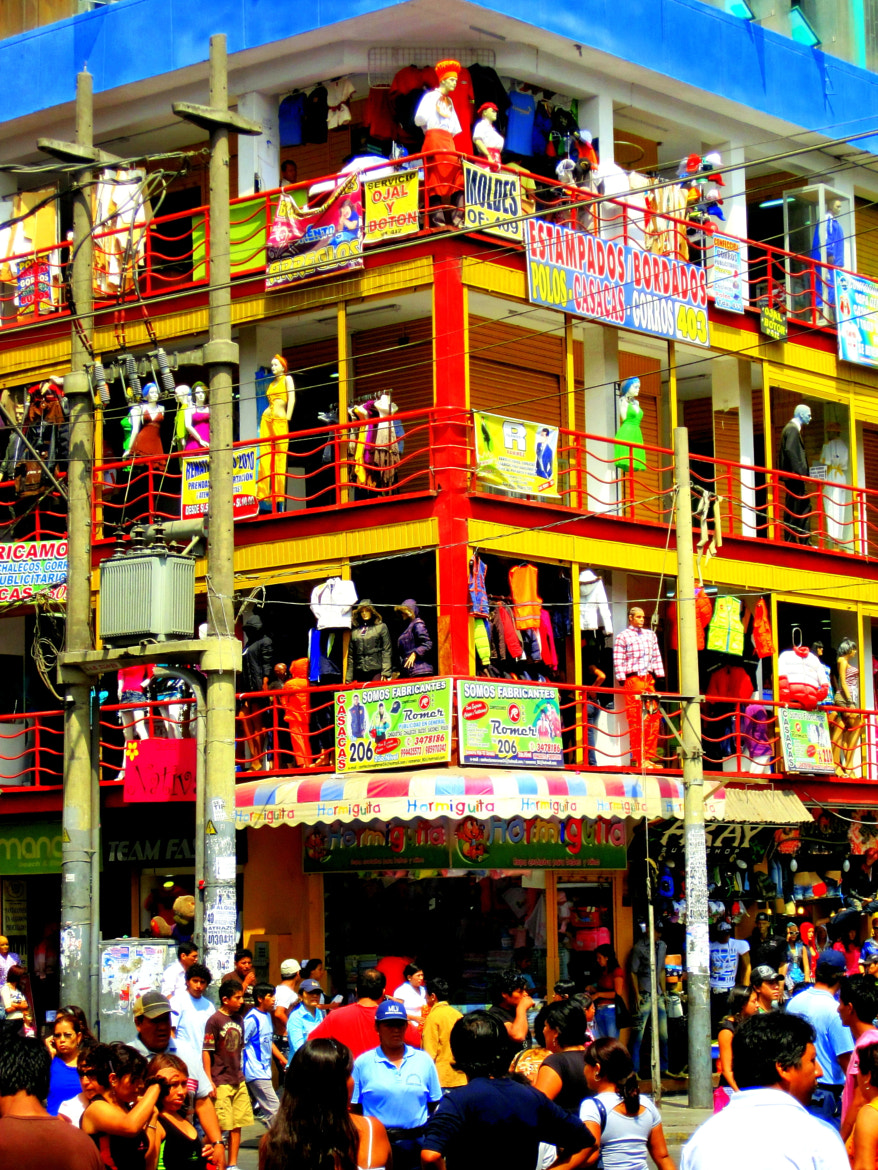 """Photograph Lovely Chaos @ Lima Textile Cluster """"Gamarra"""" by José Carlos Magot on 500px"""