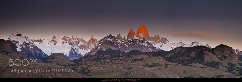 Photograph Smoking Mountain by Marina Bass on 500px