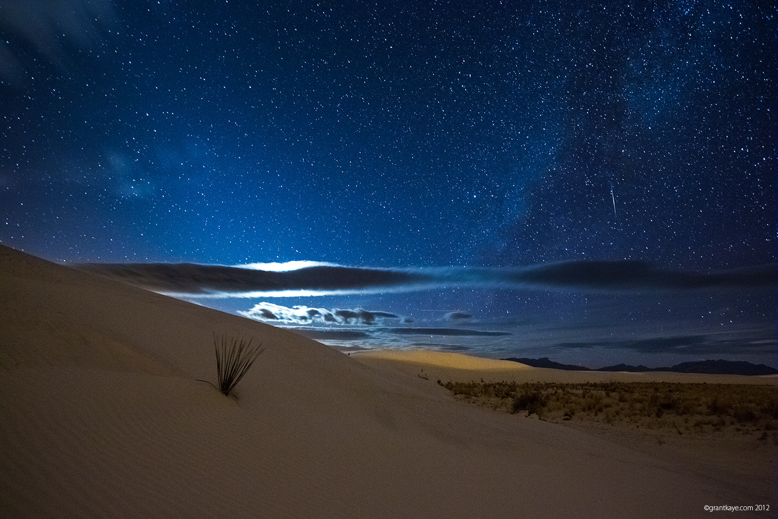 Photograph White Sands Meteor by Grant Kaye on 500px