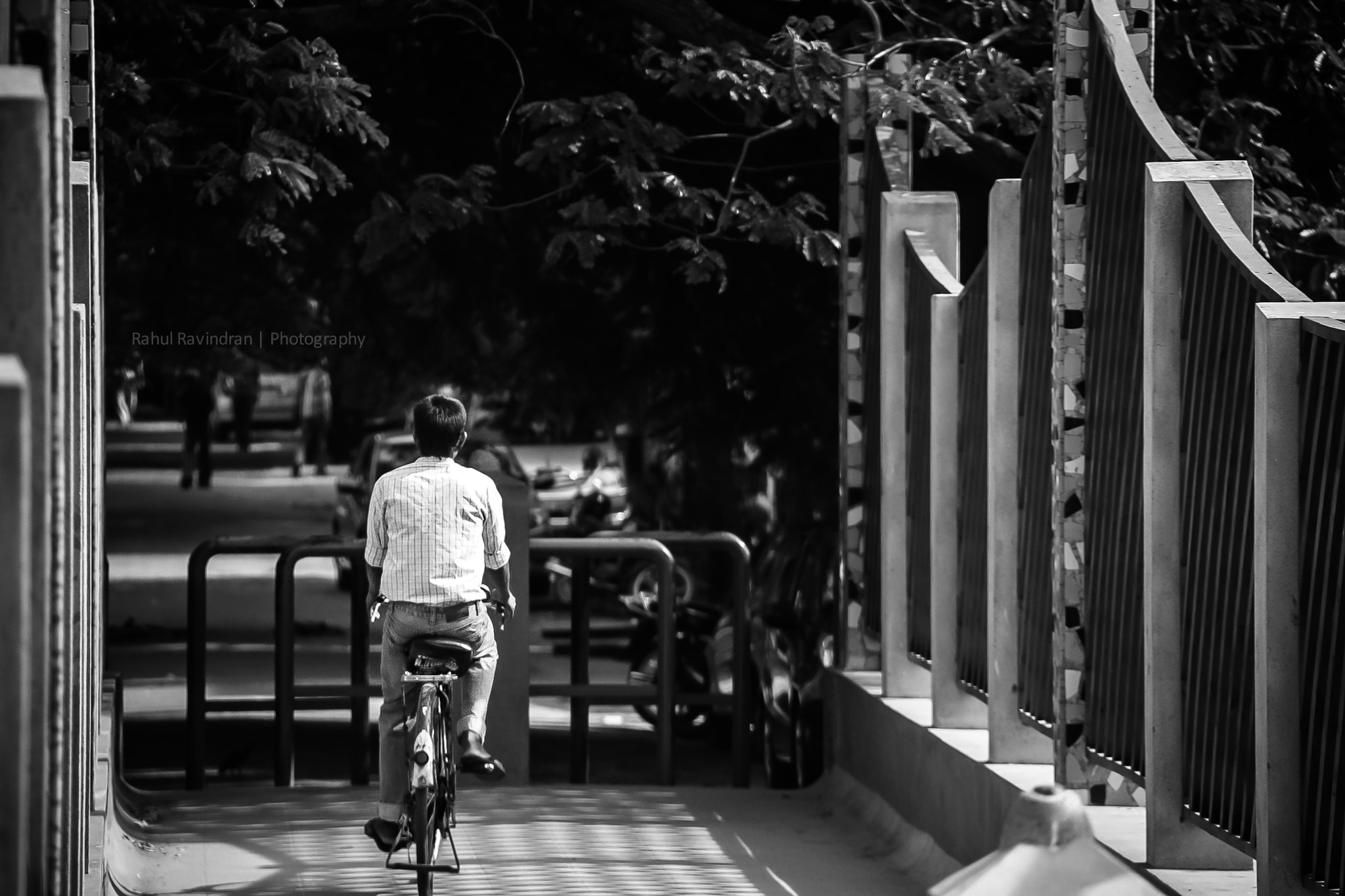 Photograph Lonely Cyclist by Rahul Ravindran on 500px