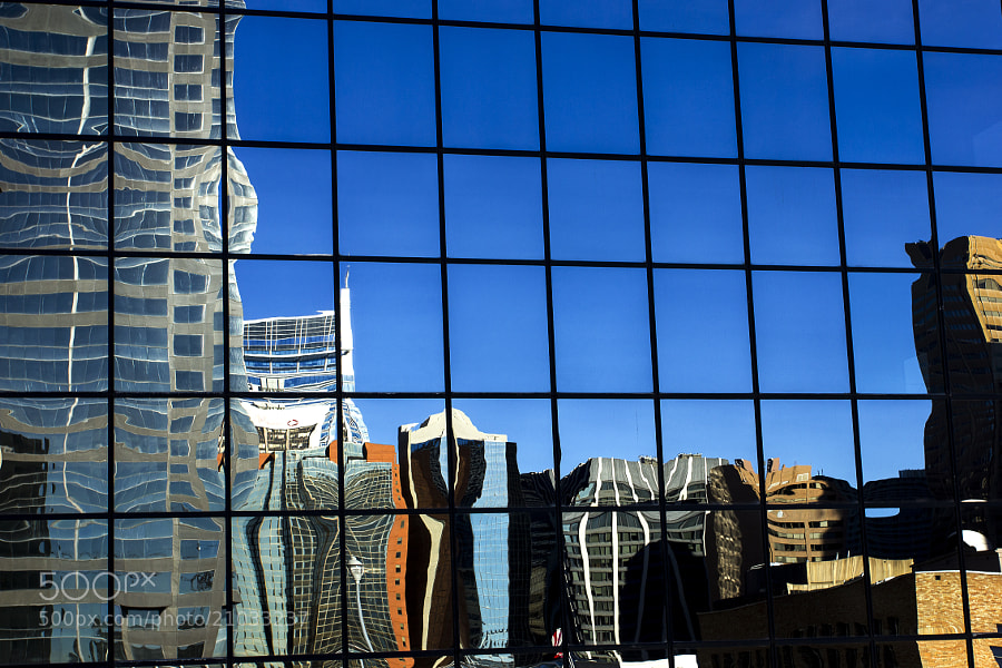 Photograph Reflected Buildings by Lynda McKay on 500px