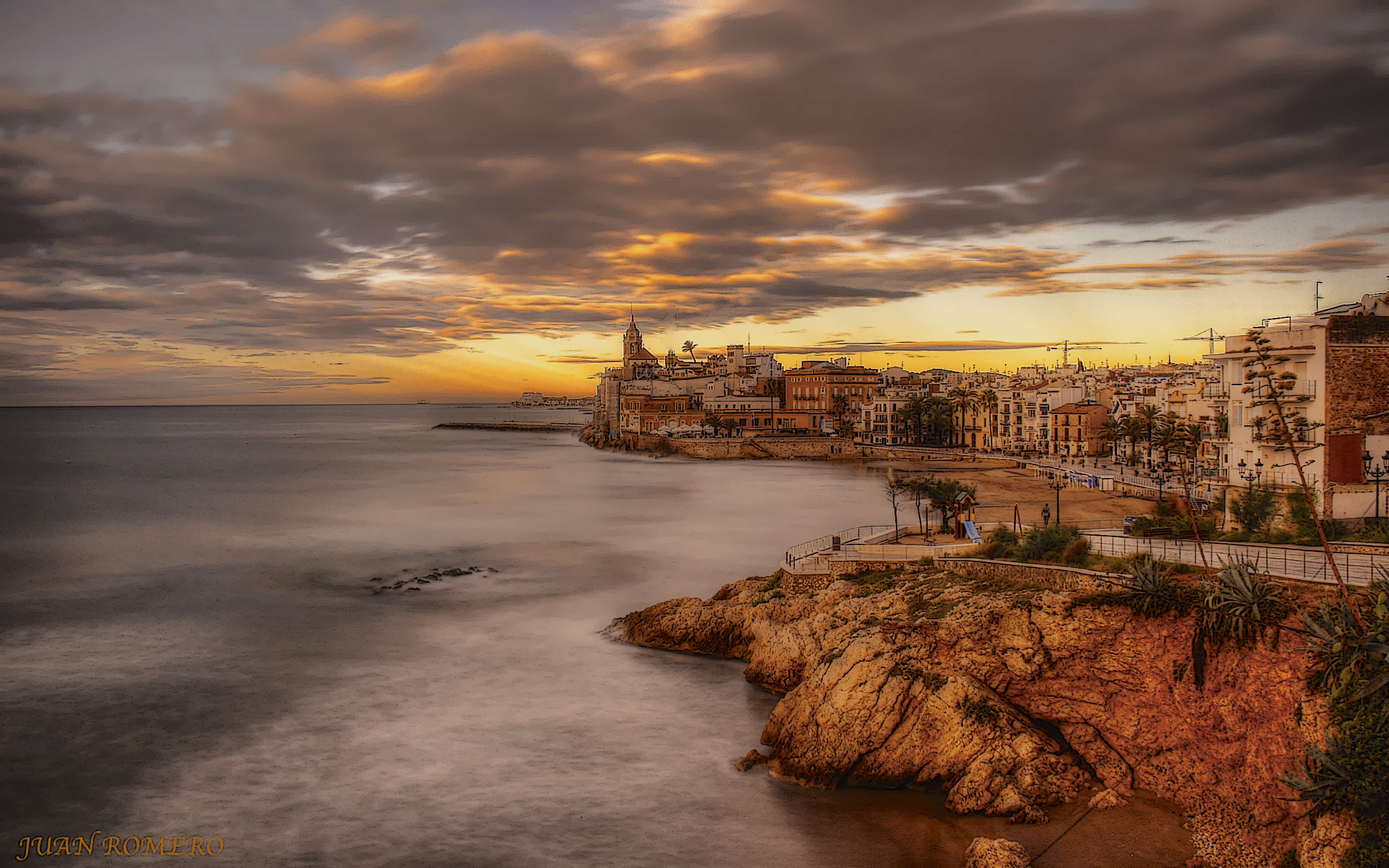 Photograph Sitges by JUAN  ROMERO on 500px
