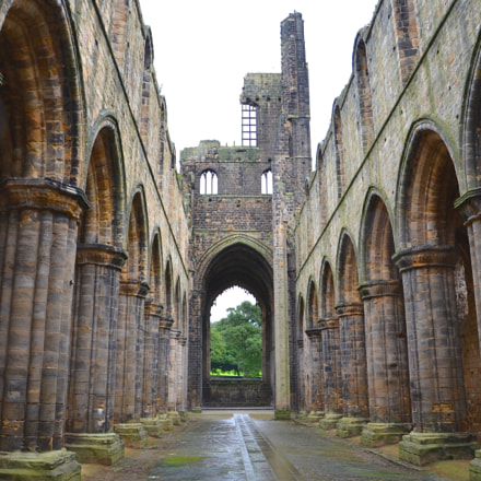 Kirkstall Abbey - In Color