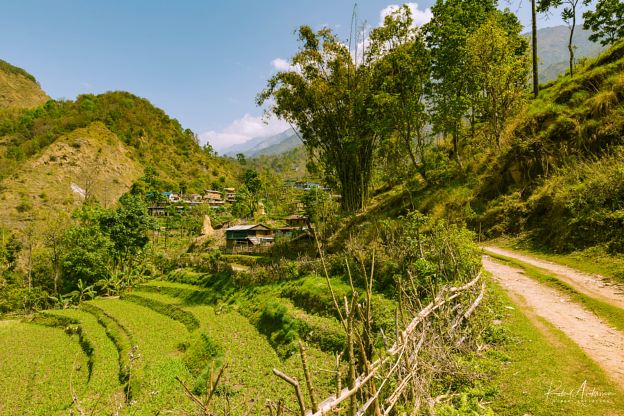Rural landscape in Lampata, Nepal by Robert Andersson on 500px.com