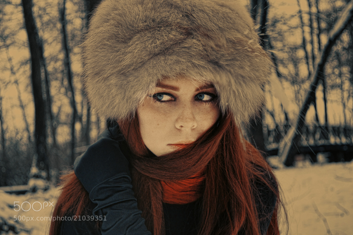 Photograph Red hair by Muna Nazak on 500px