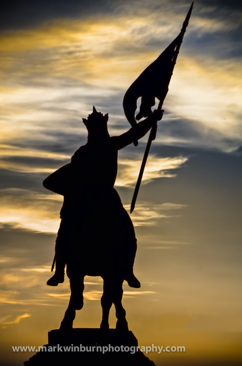 Photograph King Godfrey rides into the sunset. by Mark Winburn on 500px