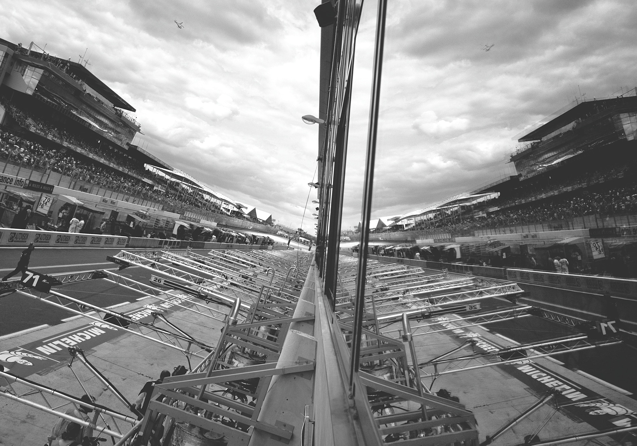 Photograph RACE REFLECTION - 24 Hours Of LEMANS 2011 by Julien REBOULET on 500px
