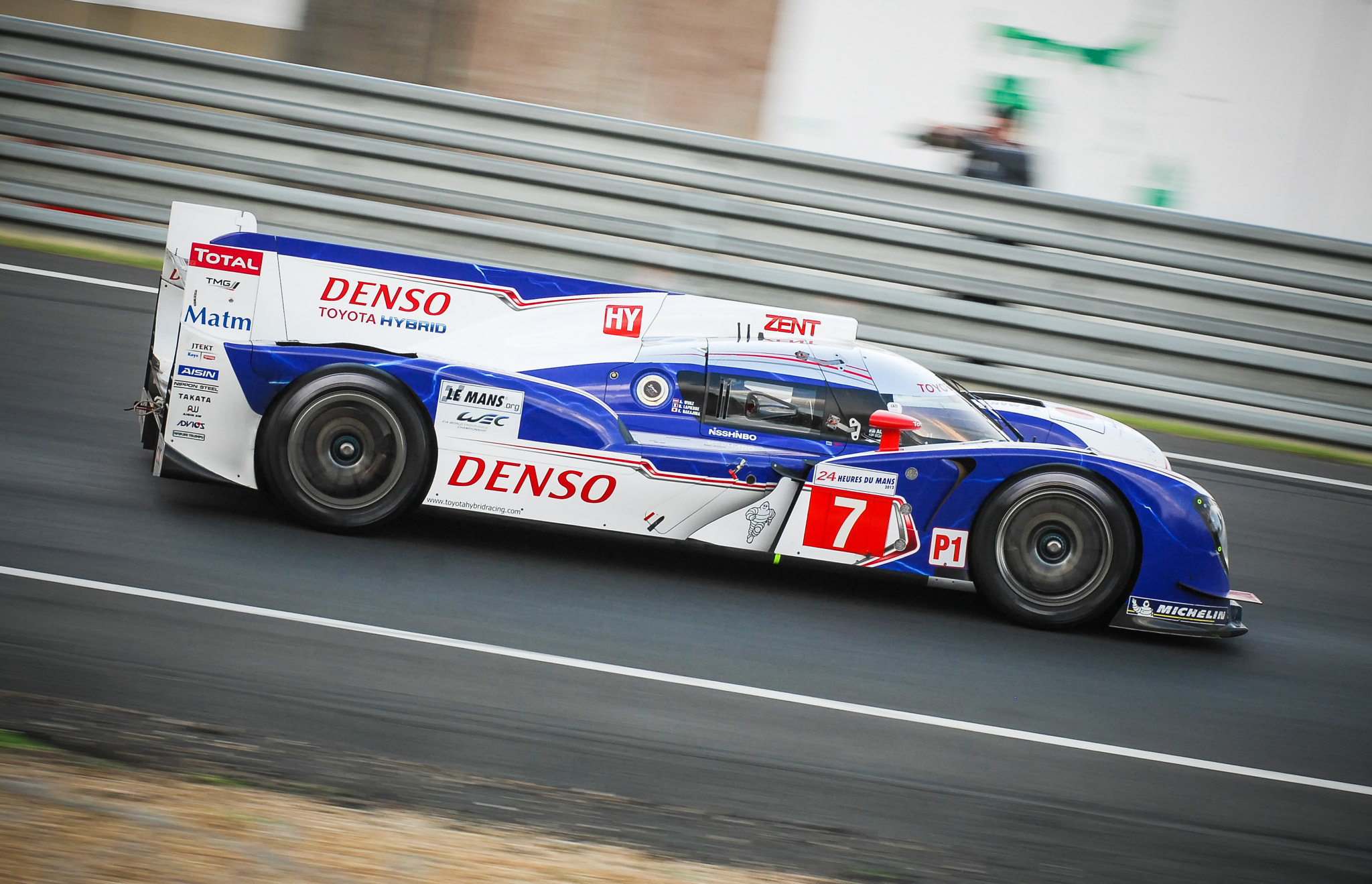 Photograph HYbrid POwer - TOYOTA - 24 Hours oh le MANS by Julien REBOULET on 500px