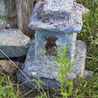 Outdoor sculpture.