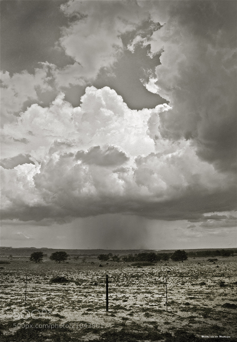 Photograph Cloudburst near Kimberley by Martha van der Westhuizen on 500px