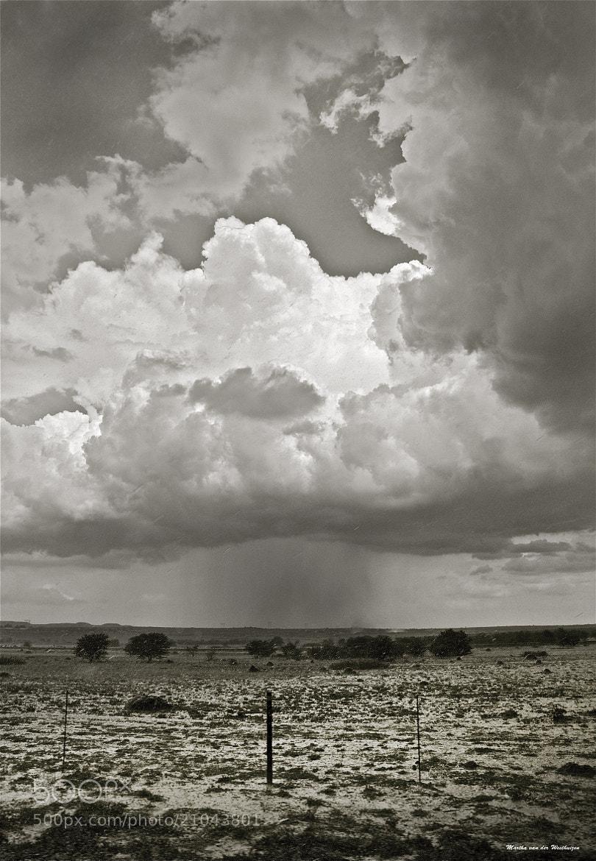 Photograph Cloudburst near Kimberley by Martha van der Westhuizen on 500px
