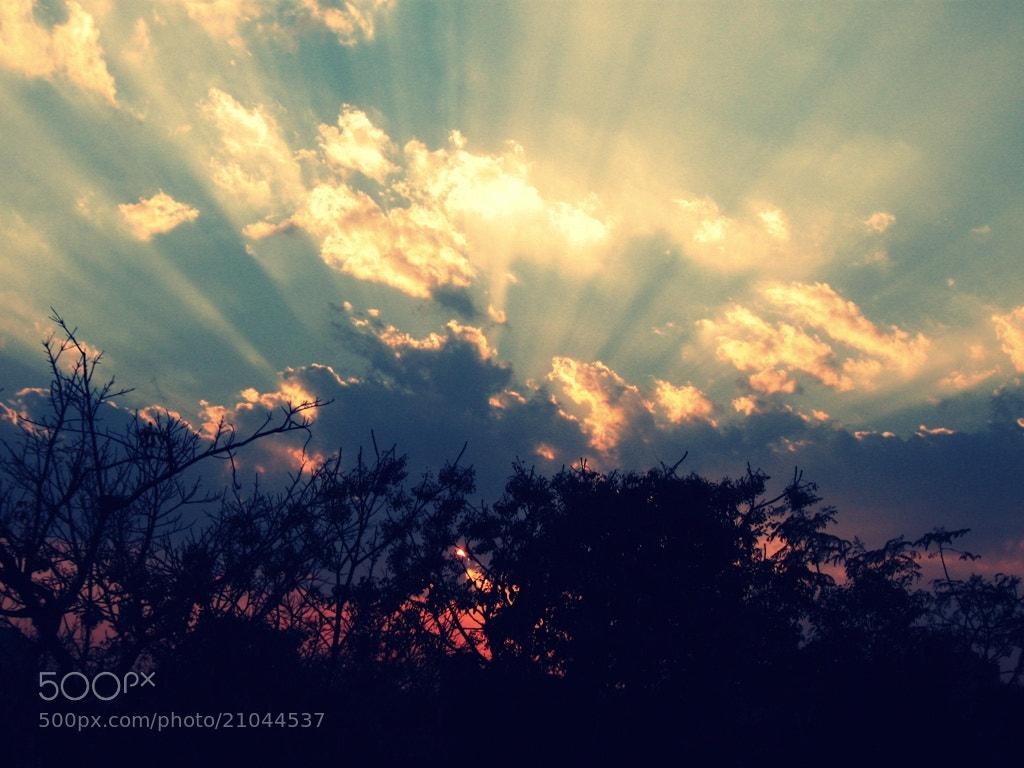 Photograph Sunset Rays by Ravi Prakash on 500px