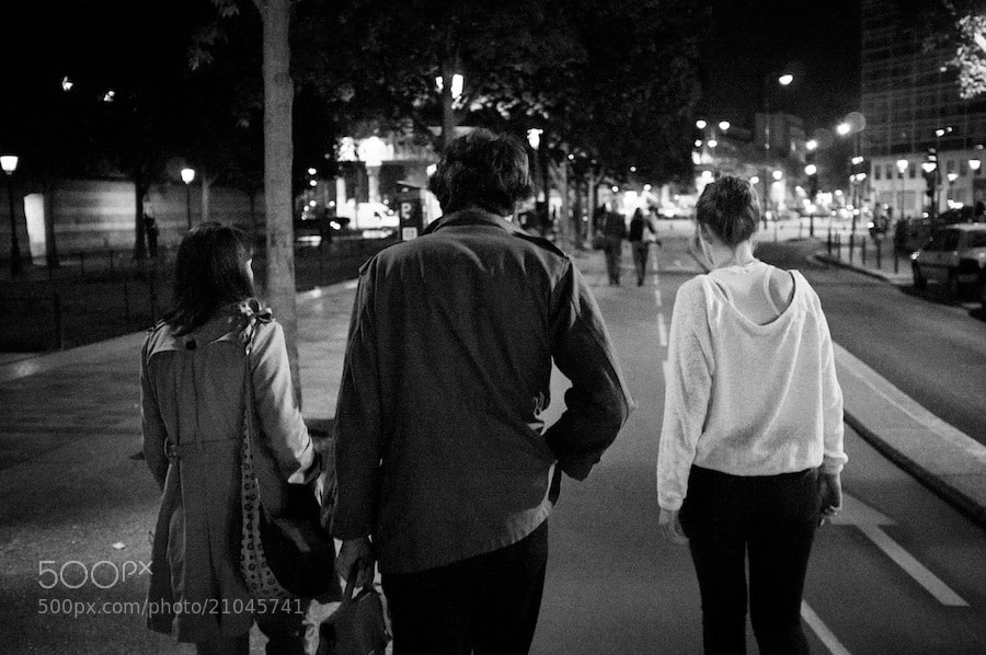 Photograph Milan, Capucine, Héloïs by Fabien Le Frapper on 500px