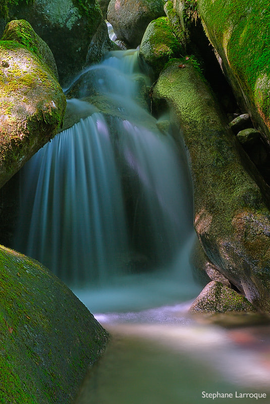 Photograph Ephemeral waterfall by stephane larroque on 500px