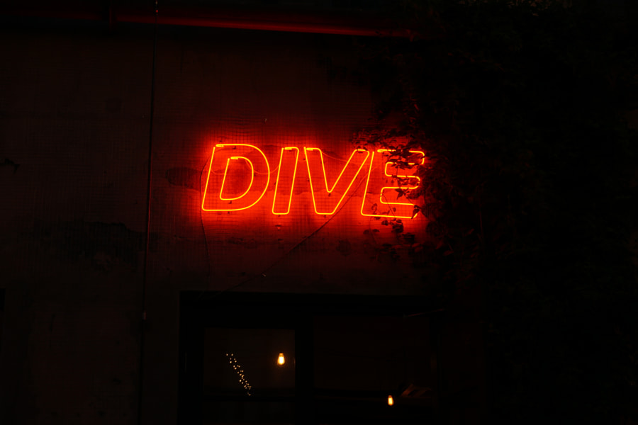 Neon Dive by David Sarkisov on 500px.com