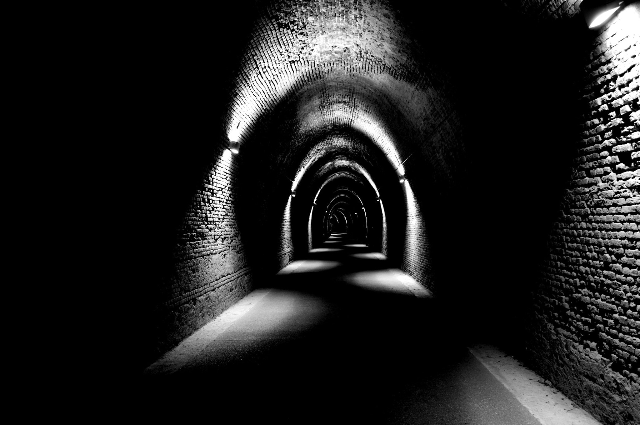 Photograph The Black Tunnel by Emanuele Mornini on 500px