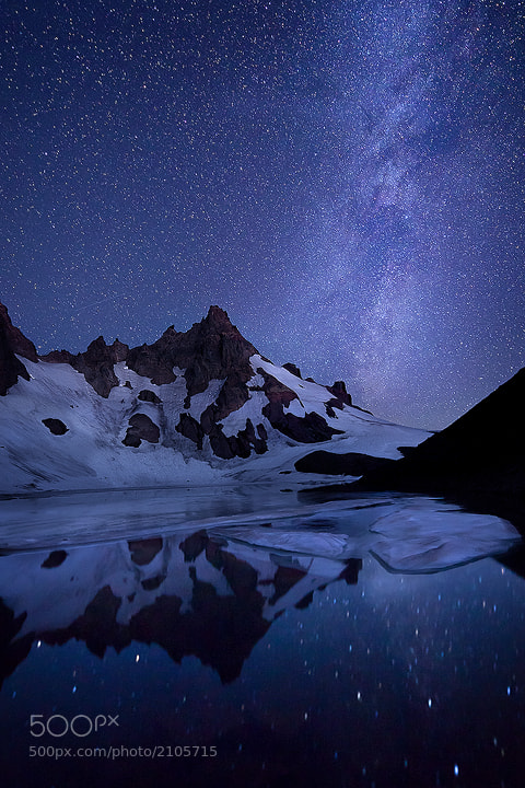 Photograph Blue Sky at Night by Exploring Light Photography on 500px