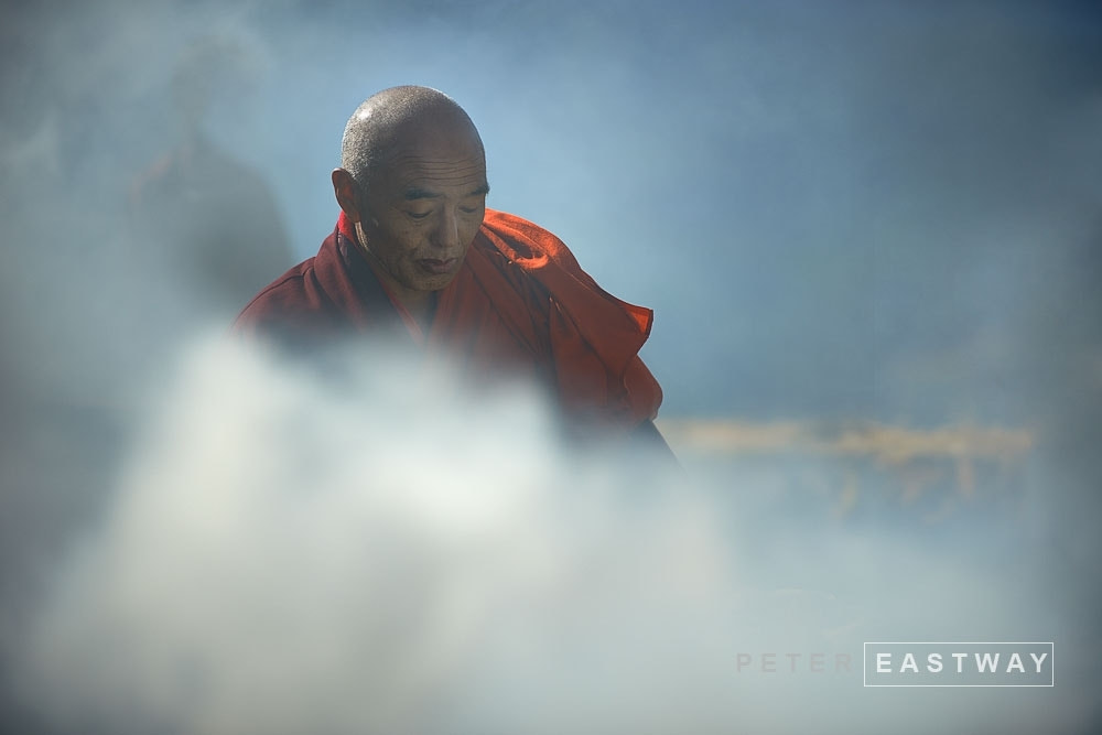 Photograph Lama, Oygen Chholing, Bhutan by Peter Eastway on 500px