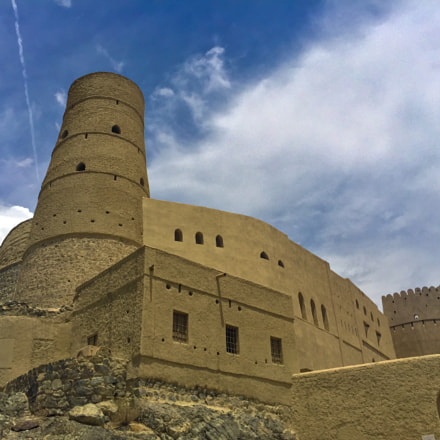 Bahala Fort - it is ancient city of Oman.