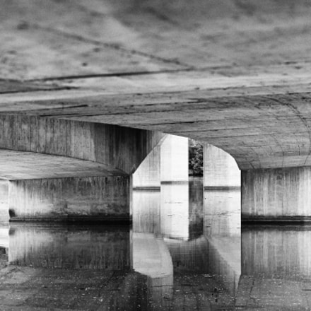 Under the Bridge B&W
