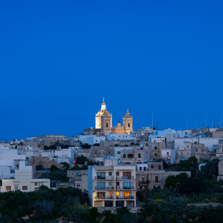 Blue hour in Xaghra, Gozo