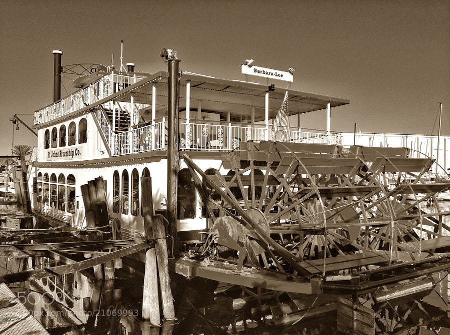 Photograph The River Boat by Jack Pierson  on 500px