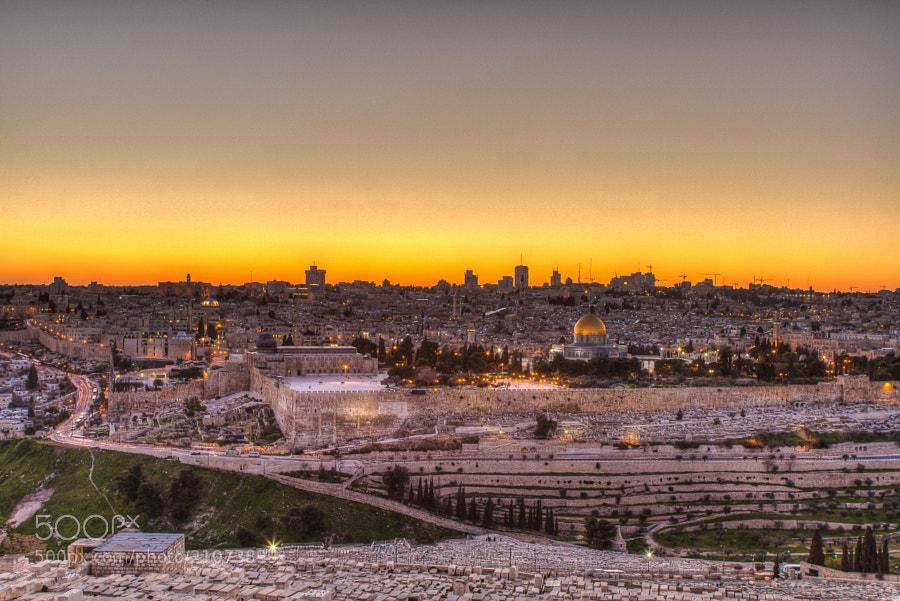 Photograph Jerusalem of Gold by David  on 500px