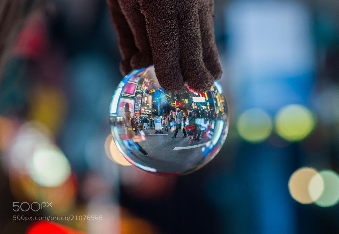 Photograph Times Square by the Fingertips by Justin Dong on 500px