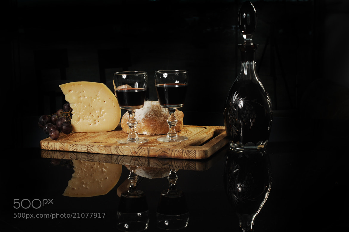 Photograph Cheese wine and bread by Cristobal Garciaferro Rubio on 500px