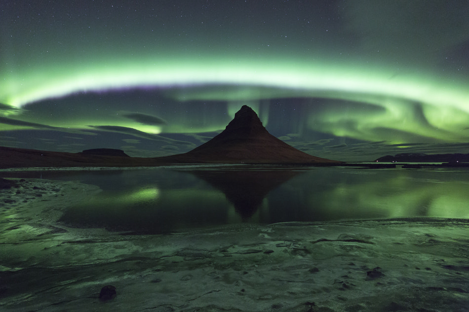 Photograph Kirkjufell Aurora by Philip Eaglesfield on 500px