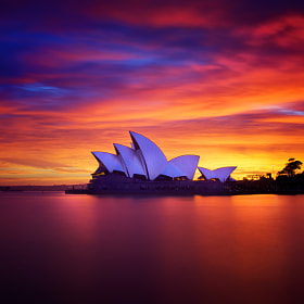 Opera Sunrise by Noval Nugraha (Noval)) on 500px.com