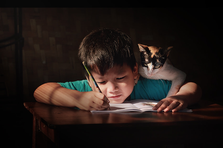 Photograph studying together by JD Ardiansyah on 500px