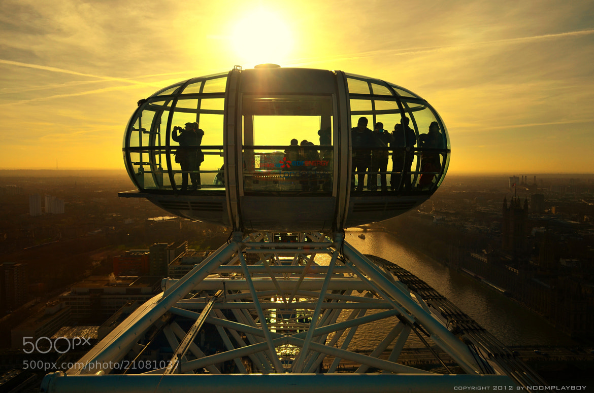 Photograph London Eye on The Top by noomplayboy  on 500px