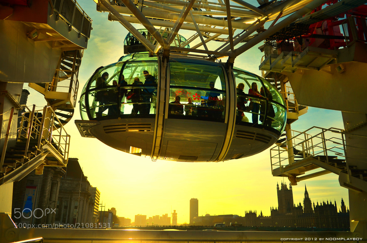Photograph London Eye by noomplayboy  on 500px