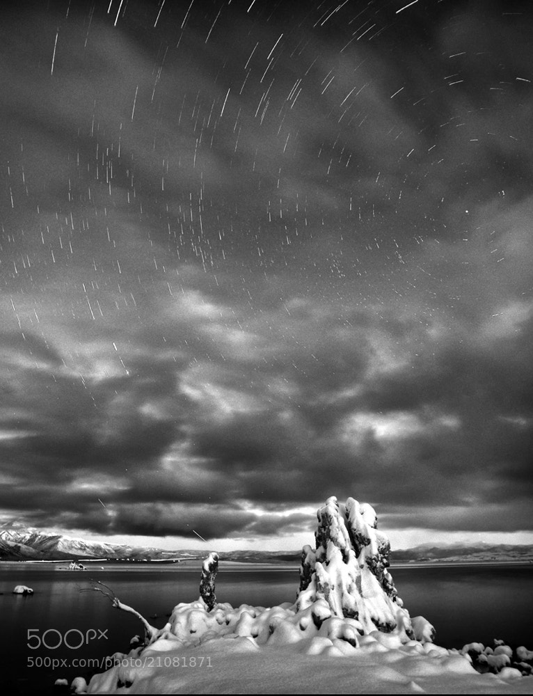 Photograph Star Trails at Mono lake by Peter Dang on 500px