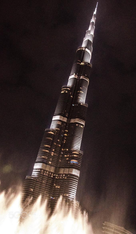 Photograph Burj Khalifa's secret identity by julian john on 500px