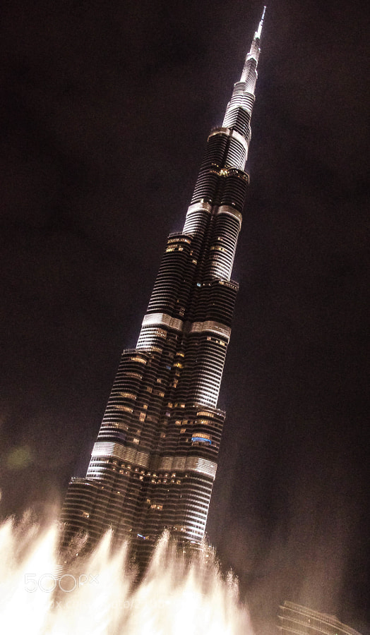 Photograph Burj Khalifa's secret identity by julian john on 500px