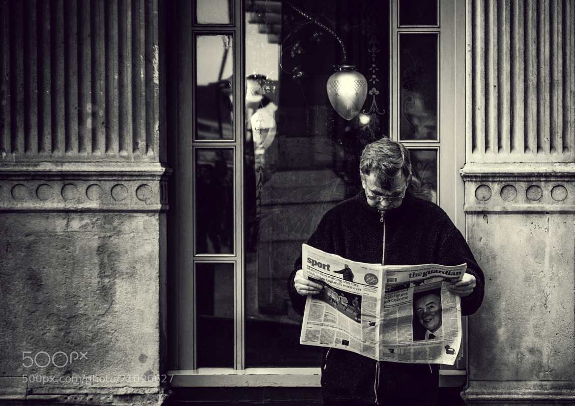 Photograph Morning Read by Chaz Wright on 500px