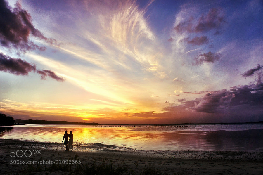 Photograph Sunset Romance by Luca Febbraio on 500px