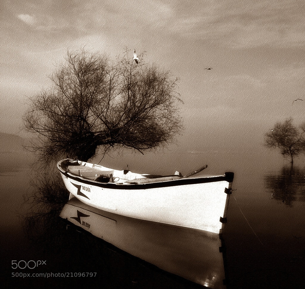 Photograph Just a boat by Ahmet Utgan on 500px