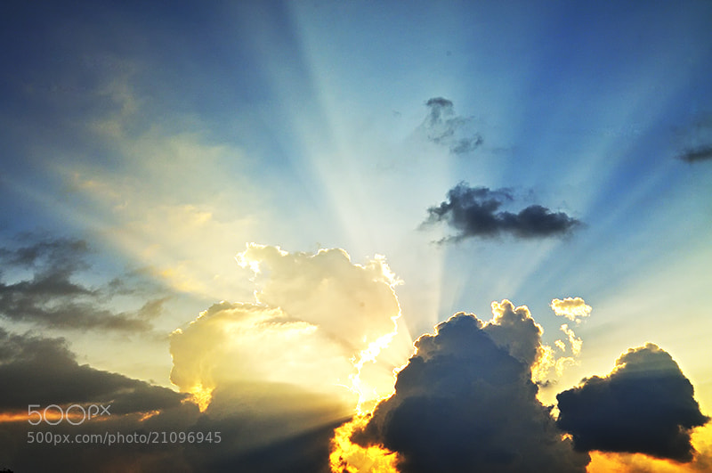 Photograph Ray of hope by almalki abdullrahman on 500px