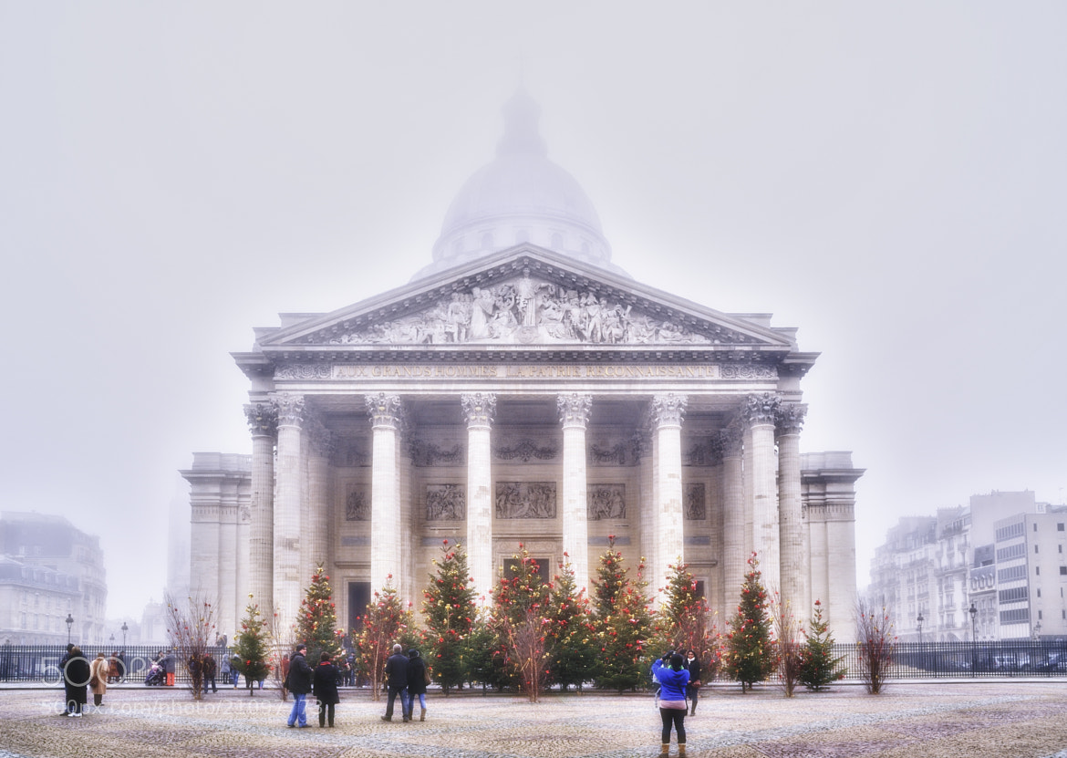 Photograph Foggy winter in Paris by Laurent Y on 500px