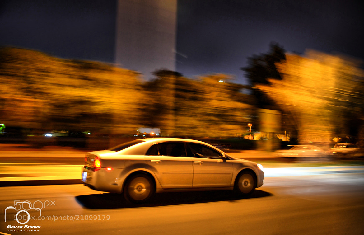 Photograph Chevy Malibu in Motion by Khaled Baroud on 500px