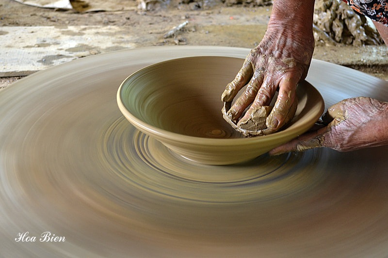 Photograph Clay, water and hands by Sea flower on 500px