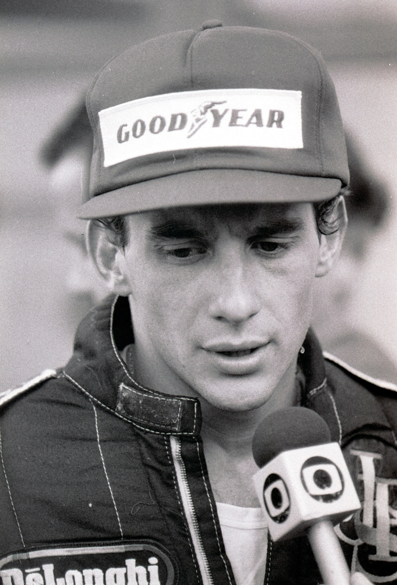 Photograph Ayrton Senna 1986 by Edmund Orzsik on 500px