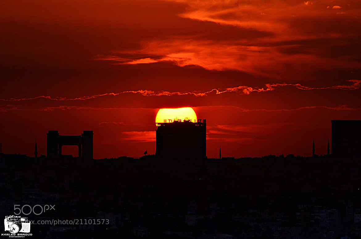 Photograph Half sunset by Khaled Baroud on 500px