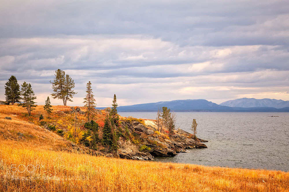 Photograph Yellowstone Lake by Ivan Peña on 500px