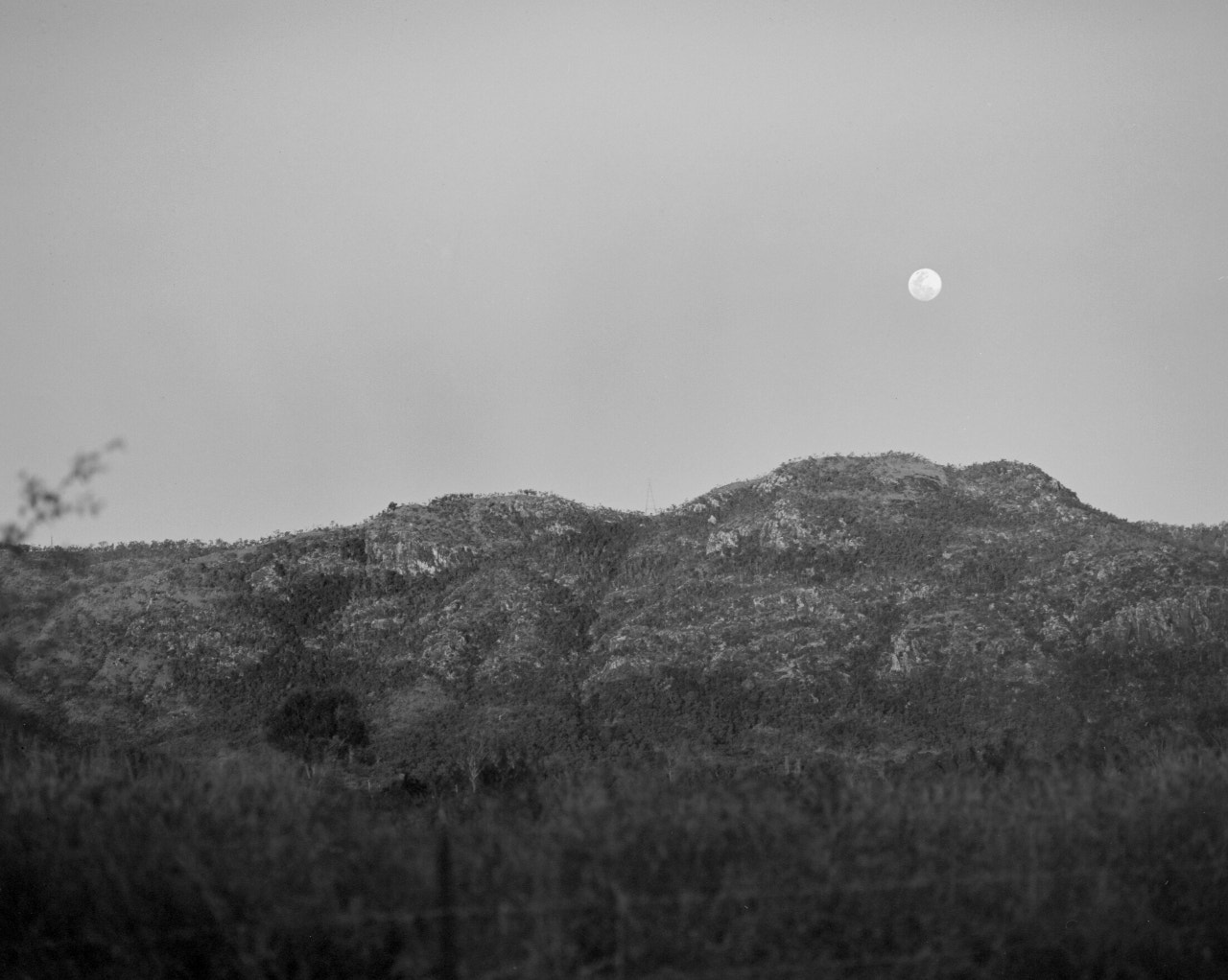 Photograph Moonrise over mount stuart by Neal Thorley on 500px