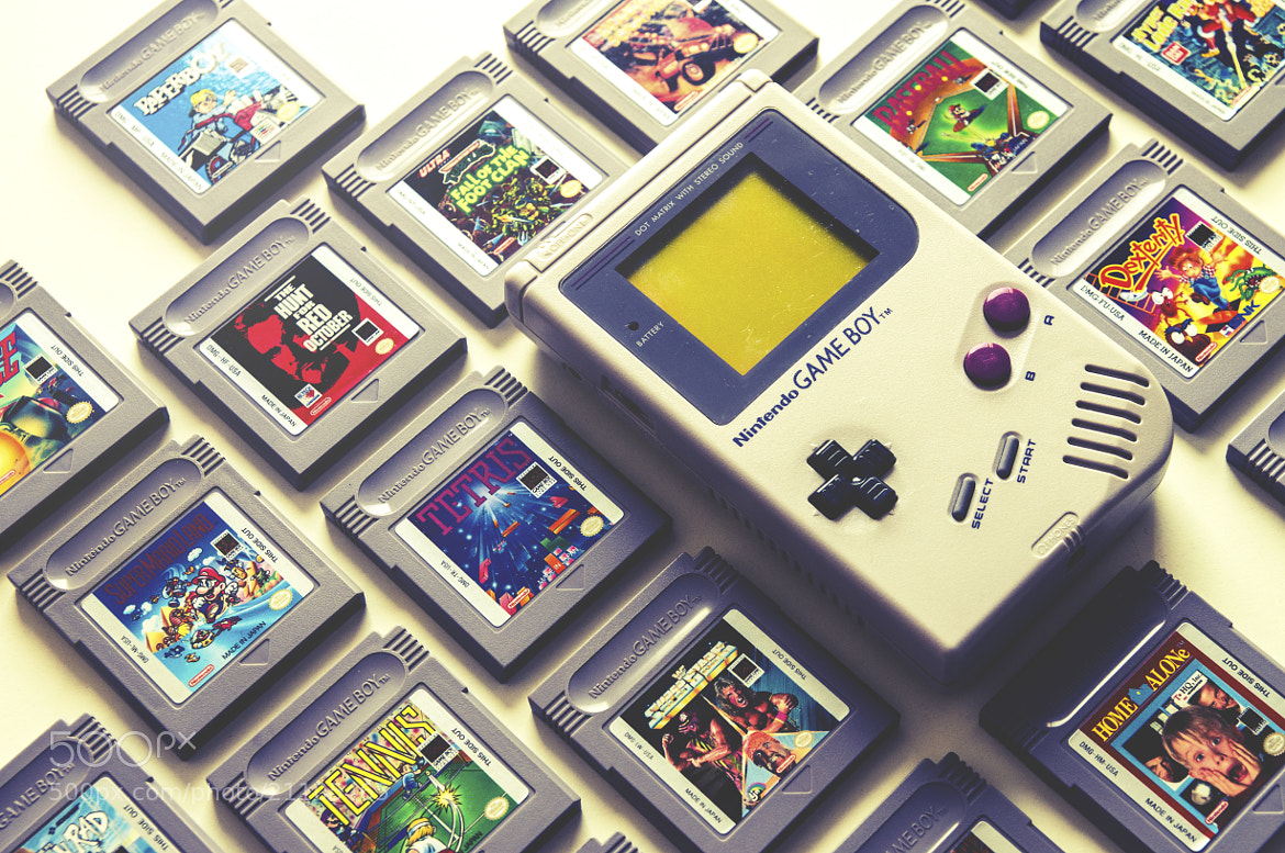 Photograph GameBoy by Andy Kirby on 500px