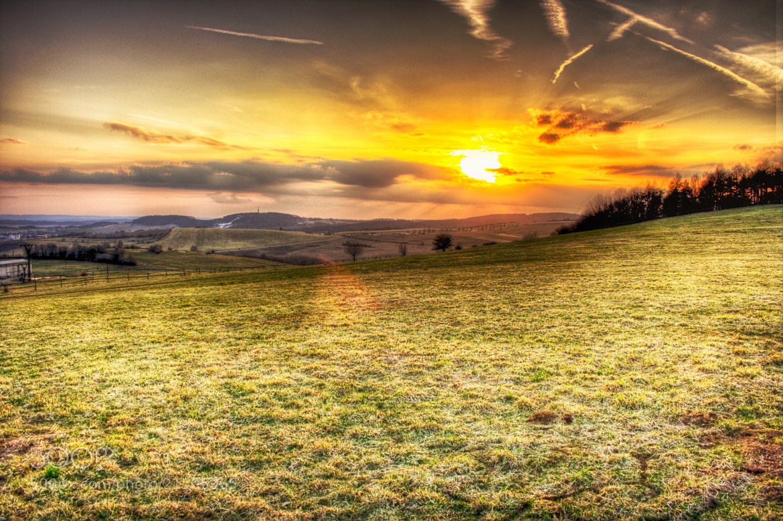 Photograph a moment before sunset by Lukáš Bárta on 500px